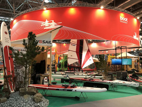 ROWonAIR auf der Messe BOOT Düsseldorf 2018 World of paddling SUP rudern