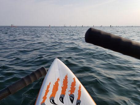 ROWonAIR | iSUP rudern beim SUP & Beachsports Festival Fehmarn