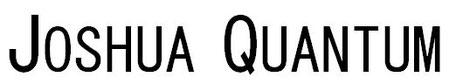 Joshua Quantum, son livre sous une application
