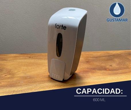 DESPACHADOR DE GEL ANTIBACTERIAL Y JABÓN FORTE F4905-GB