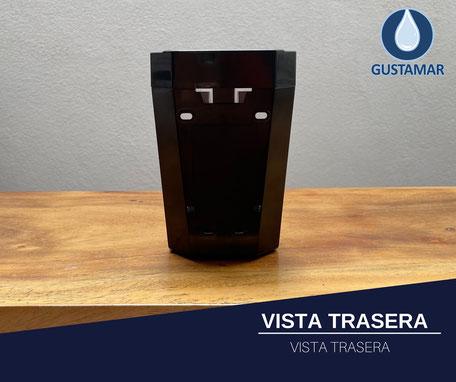 VISTA TRASERA DE LA JABONERA MANUAL FORTE F4364-NH