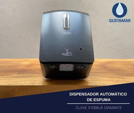 DISPENSADOR AUTOMÁTICO DE ESPUMA 1 LITRO TITÁN NEGRO
