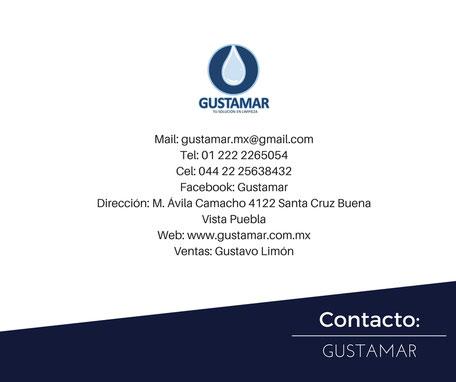 DATOS DE CONTACTO DEL PEDESTAL METÁLICO PARA DISPENSADOR