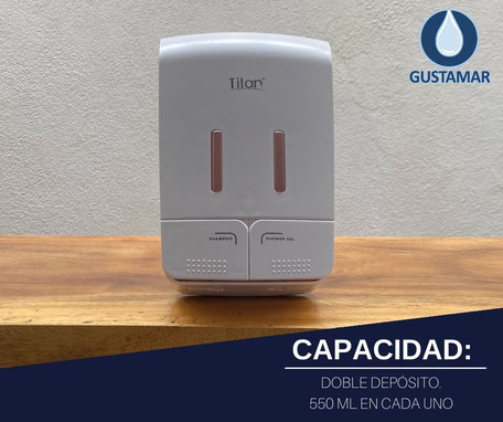 DISPENSADOR DOBLE MANUAL TITÁN