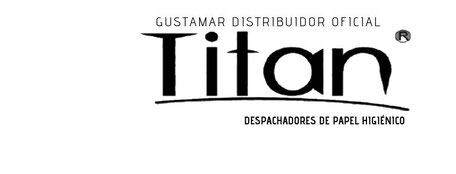 DISTRIBUIDOR TITAN DEL DESPACHADOR DE PAPEL HIGIÉNICO MINI 8002W