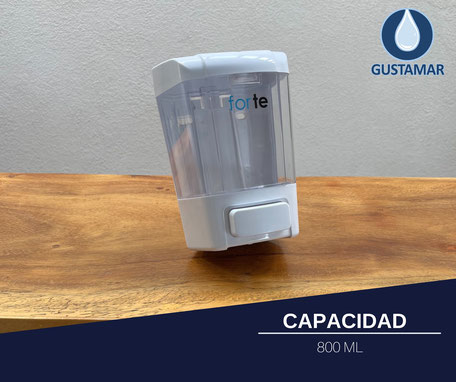 DISPENSADOR DE GEL Y JABÓN LÍQUIDO FORTE F4364-BT