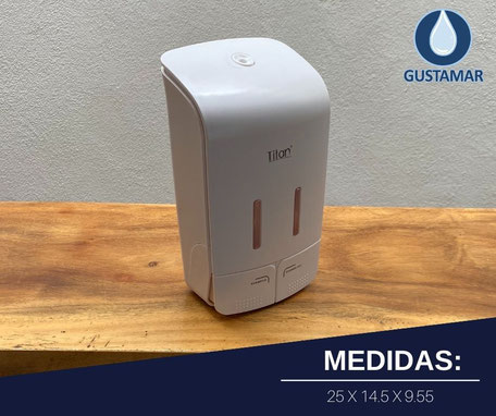 DISPENSADOR DOBLE MANUAL