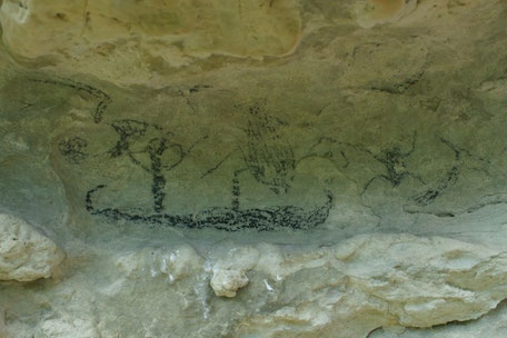 Maori Rock Drawings