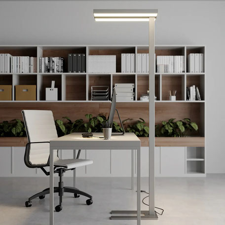 Dimmbare LED-Office-Stehleuchte Logan (lampenwelt.ch)