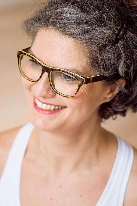 Yogalehrerin Silke Barthel