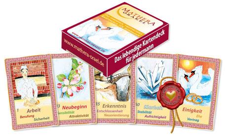 Orakelkarten  für Profis - ohne Anleitung, Mathera-Orakelkarten SOLO