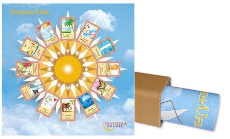 Sonnenuhr für Orakelkarten, Posterdruck
