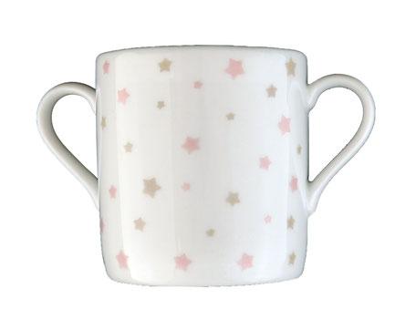 Tasse bébé porcelaine étoiles