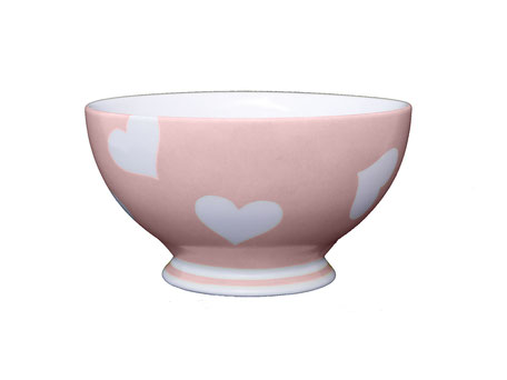 Nara Porcelaine Peinte à la main - Tentation Bol Rose Antique