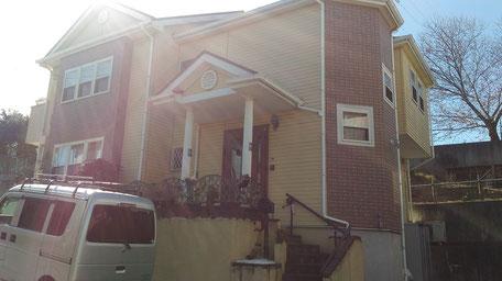 川口市の戸建住宅、外壁塗装・屋根塗装工事前の写真