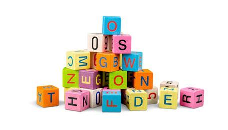 Gehirnjogging mit Buchstabenwürfel