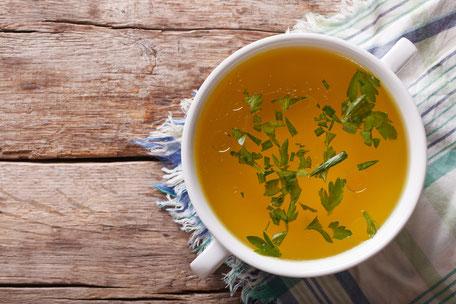 Gemüsebrühe für Ihre Buchingerfastenzeit