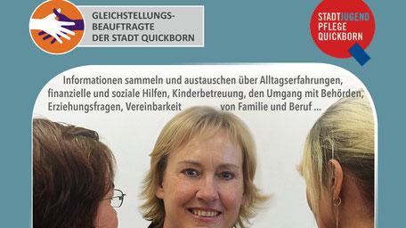 Plakate für die Quickborner Gleichstellungsbeauftragte >>