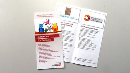 """Broschüre """"Wegweiser für Familien"""" >>"""