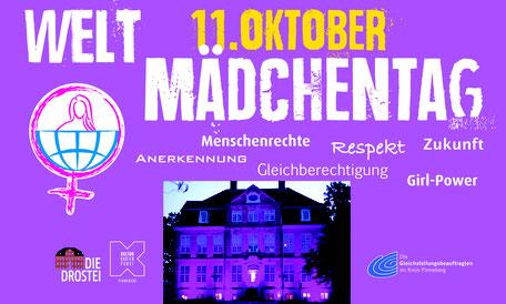 Banner und Plakate für die Gleichstellungsbeauftragten des Kreises Pinneberg