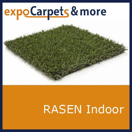 Indoor Kunstrasen für Messen und Events von expoCarpets & more