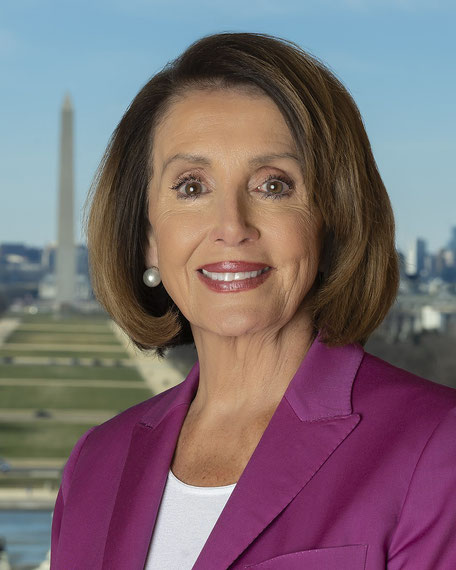 Speakerin Nancy Pelosi | Quelle: United States House of Representatives [Public domain]