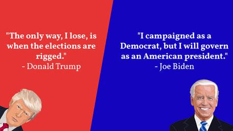 Über Trump, die Wahl-Woche und Joe Bidens Politik