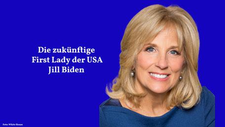Lehrerin und zukünftige First-Lady: Jill Biden im Porträt
