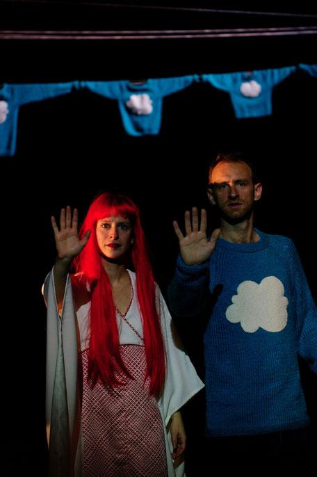 Photo (c) Marie Pétry - J'avance et j'efface - Théâtre à cru - Alexis ARMENGOL