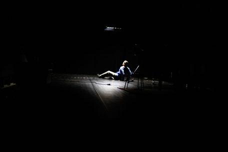 Photo (c) Franck Ternier - Je pensais que mon père - Théâtre à cru - Alexis ARMENGOL