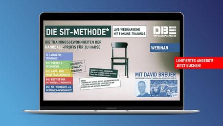 SIT-Methode Webinarreihe für Handballer mit David Breuer | Limitiertes Angebot