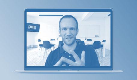 DBE Webinare. Performance-Coach David Breuer. Mit Webinaren Erfolgschancen steigern.