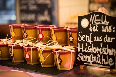 Original Kölner Senf aus der Senfmühle bei der Fleischerei Eckart