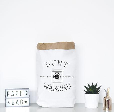 Paperbag für Buntwäsche