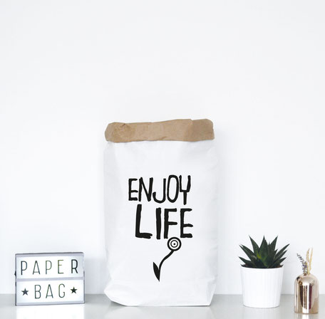 "Paperbag ""enjoy life"""