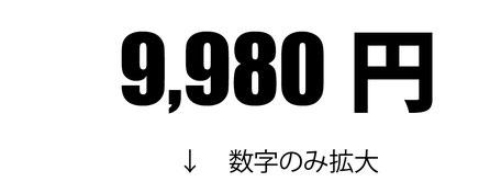 江坂広告 数字の見せ方タイトル