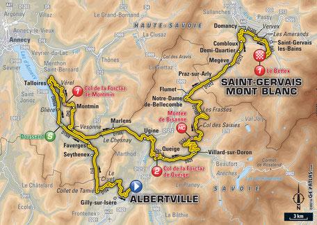 Tour de France les Saisies