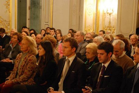 """Conférence conjointe des branches """"jeunes"""" et """"anciens"""" de la Conférence Olivaint au Cercle France Amérique"""