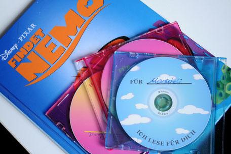 CD's für Kinder inhaftierter Väter und Mütter bei Ich lese für dich