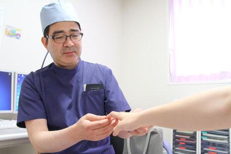 外科診療風景
