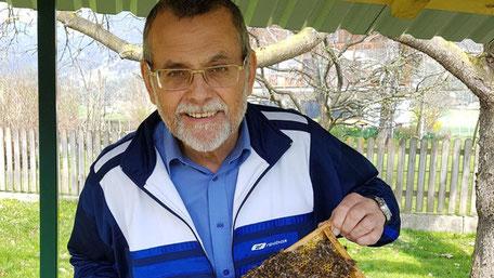 BWF und WL Hans Zmölnig ist Gesundheitsreferent für Bienenzucht in Kärnten