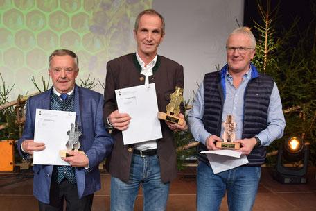 Sieger der Kärntner Bären in der Kategorie Waldhonig 2018
