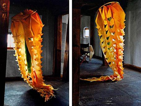 Medusa,Papierkunst