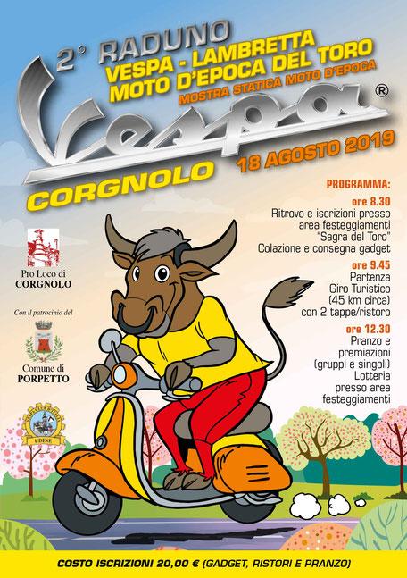 1° Raduno Vespa Lambretta Moto d'Epoca del Toro