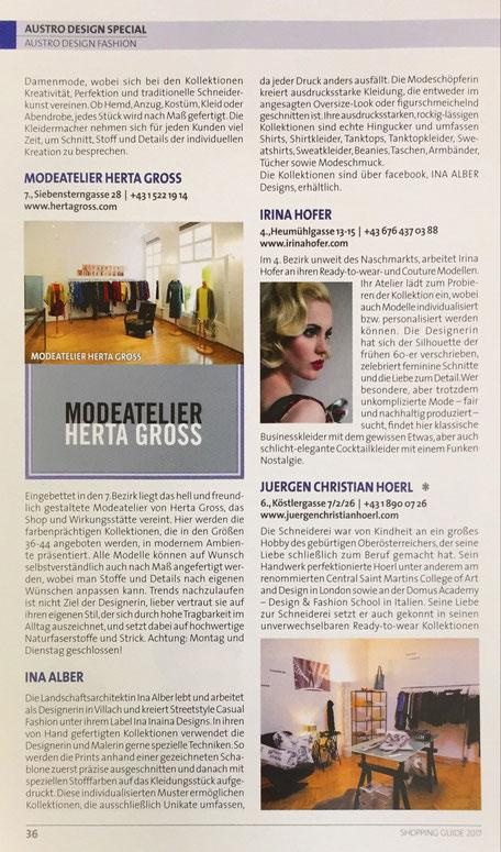 Fashion Designer Austrian Fashion Mode Österreich Designer Abendkleid aus Wien