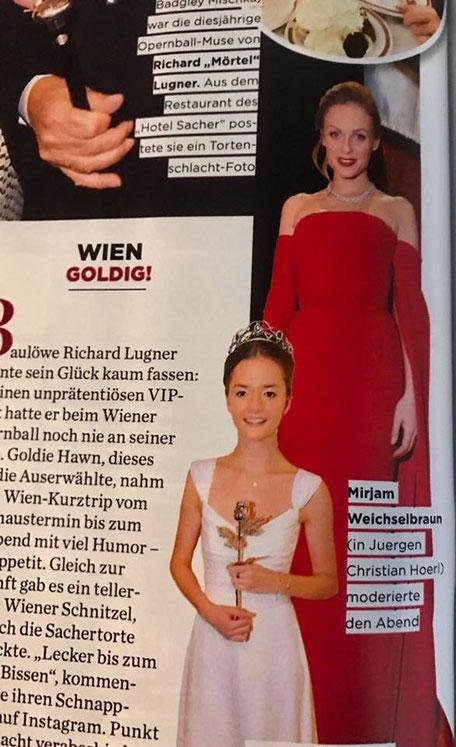 Fashion Mode Designer Austria Austrian Designer Ballkleid aus Wien Opernball 2017 Gala Magazin