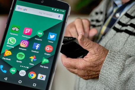 Handy/Tablet-Schulungen Schreibmeier