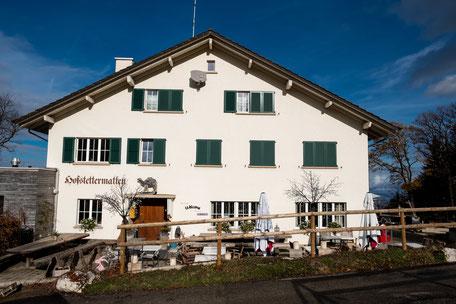 Familienfreundliches Ausflugsrestaurant Bergmatten