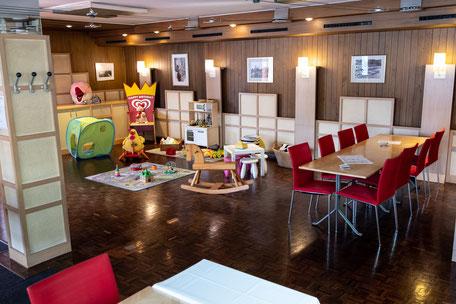 Spielecke im Familienrestaurant Park am Rheinfall