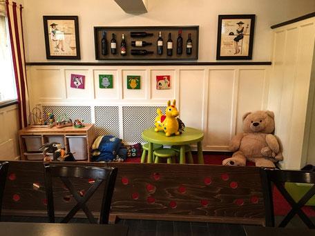 Spielecke im Familienrestaurant Hohberg